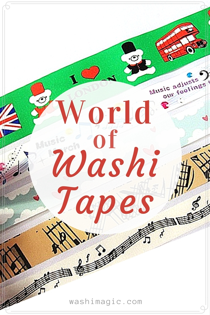 World of washi tapes and find out the magic inside