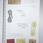 Envelopes, envelope eyelet and border green washi tapes