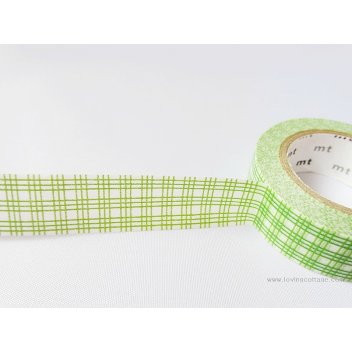 Green gridline mt masking tape