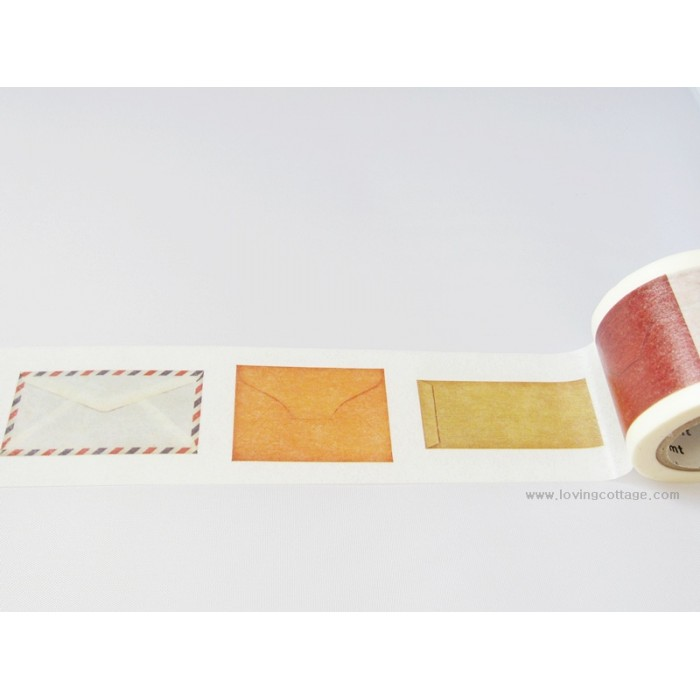 Unique washi tape envelopes