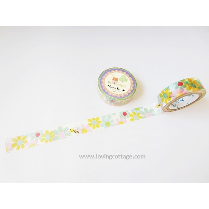 Hachisan masking tape by Shinzi Katoh