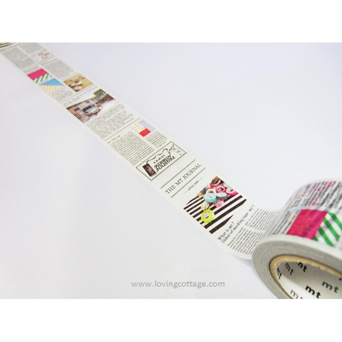 Newspaper masking tape