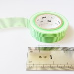 Green lines mt masking tape