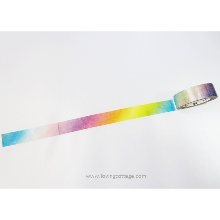 Rainbow colors washi tape