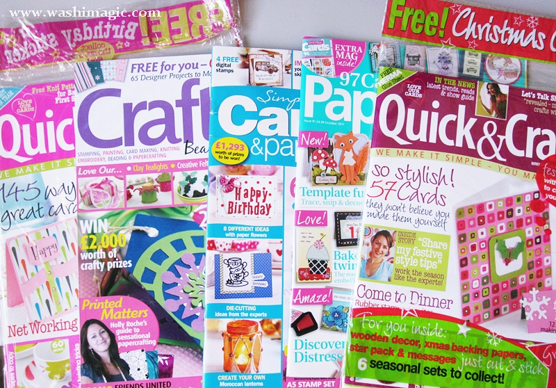 Crafts magazines collection