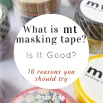 What is mt masking tape? Is it good? Read mt series part 1 to discover.