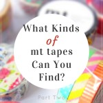 What kinds of mt tapes can you find? Read mt series part 2 for details.