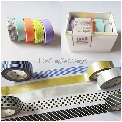 Gift box set mt washi tape
