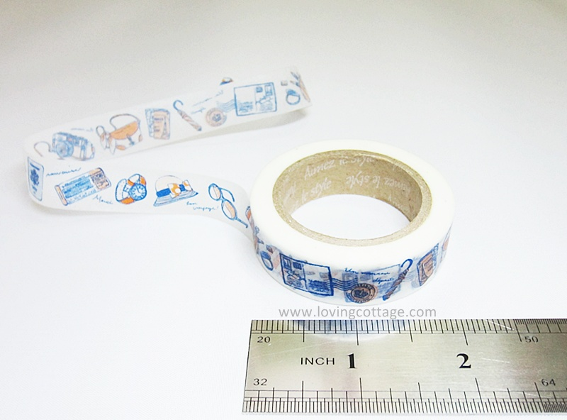 Fun travel Aimez le style masking tape for journal
