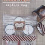 Washi tape ziplock bag