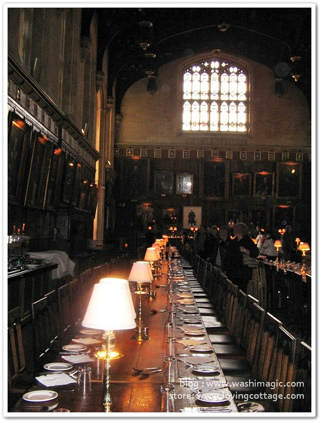 Harry Potter canteen Oxford