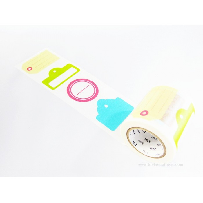 mt ex colorful tags masking tape
