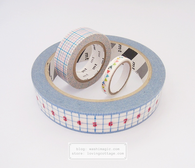 Different washi tape size