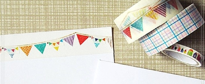 Snail Mail Project #2: Do You Really Need 5 Different Washi Tapes To Make A Happy Mail?