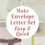 Make envelope letter set easy & quick