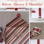 Make special Xmas themed snail mail