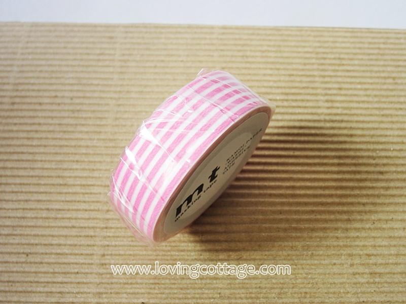 Pink washi tape | pink mt tape | Japanese washi tape
