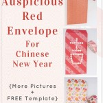 Make auspicious red envelope for Chinese New Year