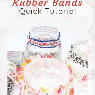 Decorative Rubber Bands Quick Tutorial