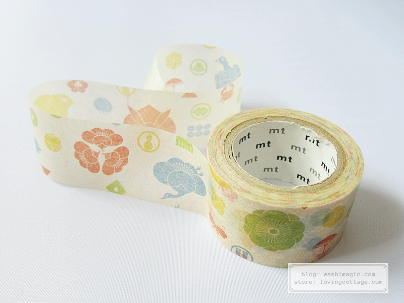mt ex kamon masking tape | Washimagic.com