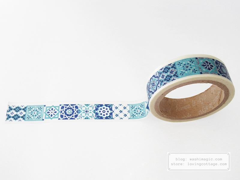 Aimez le style Morocco tile washi tape | Washimagic.com