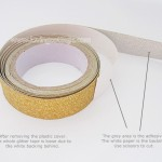 Gold glitter masking tape | Washimagic.com