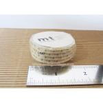 mt masking tape small gold dots | Washimagic.com