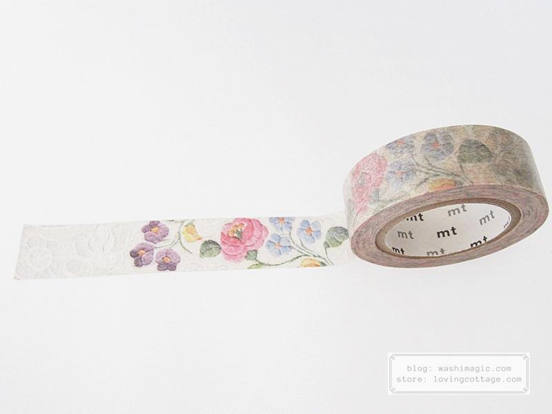 mt ex lace kalocsa masking tape MTEX1P105 | Washimagic.com