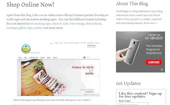 Shop online now old screenshot | Washimagic.com