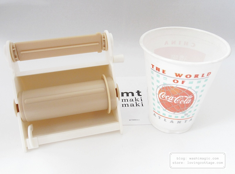 Use a plastic cup to compare the size | Washimagic.com