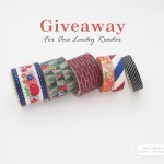 Giveaway - round core and washi tapes | Washimagic.com
