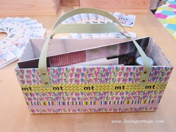 mt expo in Kuala Lumpur, Malaysia - mt tape basket | Washimagic.com