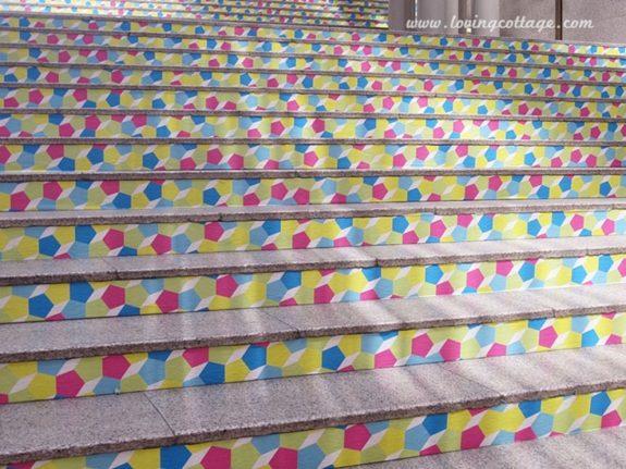 mt expo in Kuala Lumpur, Malaysia - the staircase | Washimagic.com