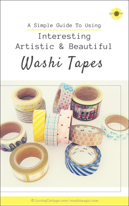 Free resources introduction - Free ebook for subscribers - A simple guide to using interesting, artistic & beautiful washi tapes | Washimagic.com