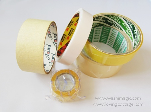 General masking tapes