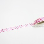 Dots and lines Japanese washi tape