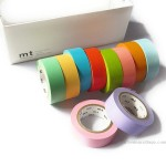 Bright and light colors set mt tape | Washimagic.com