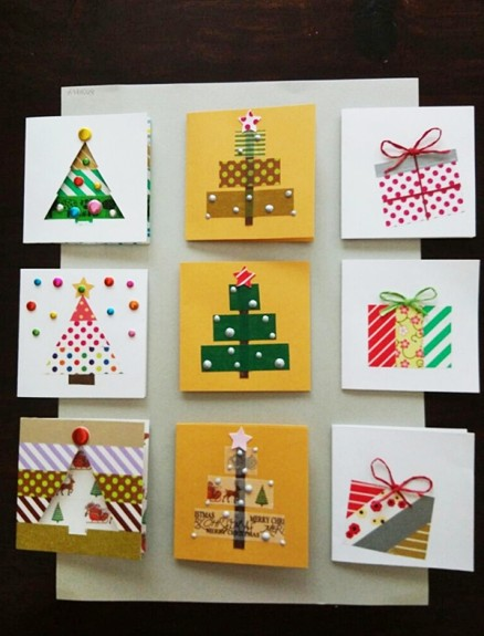 Christmas Gift Card Boxes