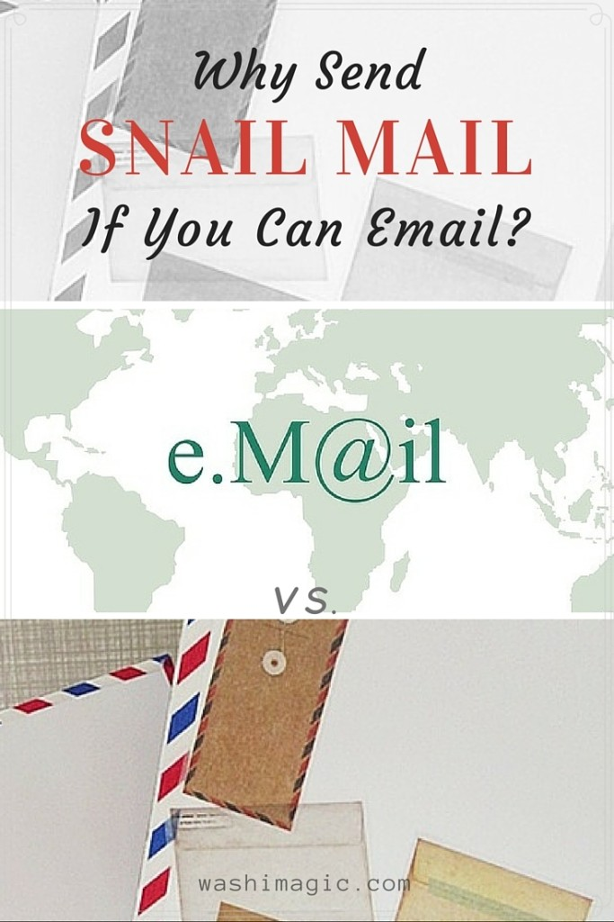 Why Send Snail Mail If You Can Email?