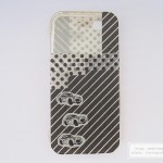 Black and white mobile phone case for guy