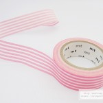 mt deco border peach masking tape | WashiMagic.com