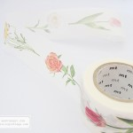 mt ex hana flowers masking tape | Washimagic.com