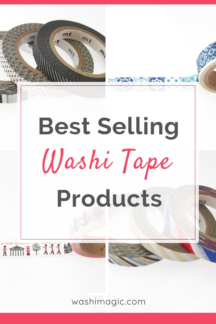 Best selling washi tape products on lovingcottage store | decorative masking tape | washi adhesive tape | Washimagic.com