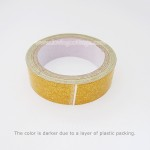 Gold glitter tape | More details about various types of washi tapes | Washimagic.com