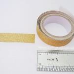 Glitter tape gold | Washimagic.com