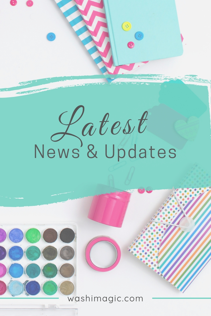 Latest news and updates about washi magic blog, giveaways, shopping and more | Washimagic.com