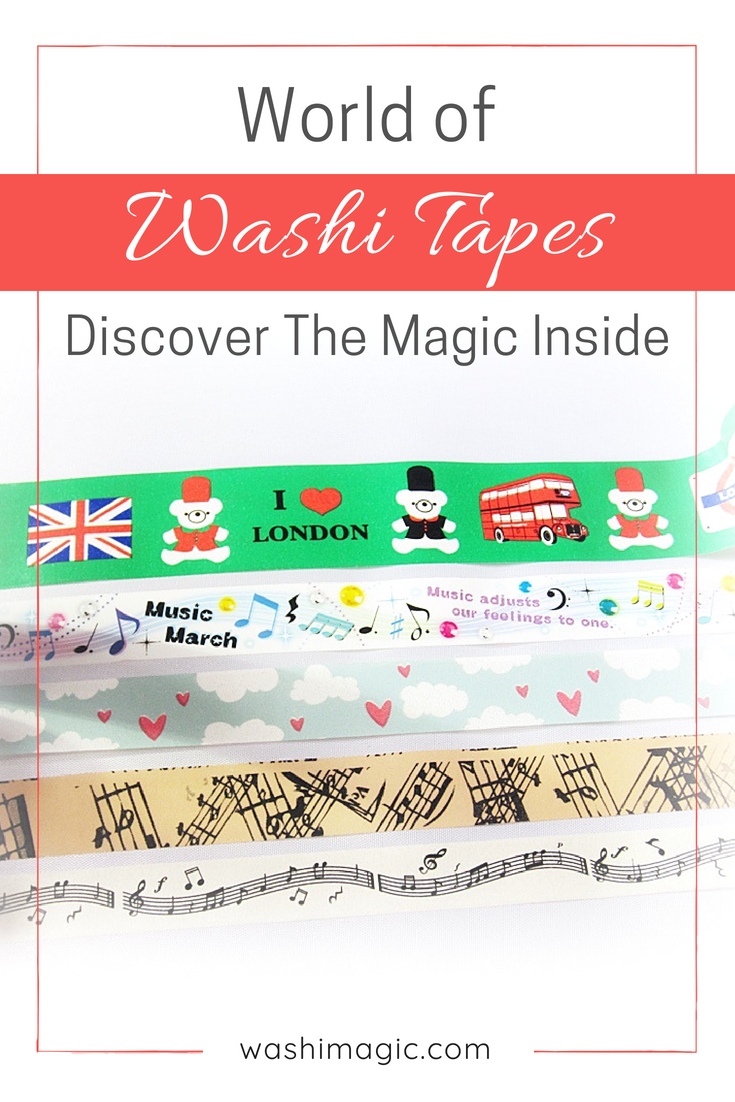 Find out the magic inside the world of washi tapes | WashiMagic.com
