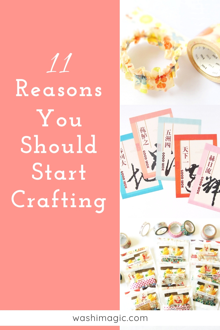 11 reasons you should start crafting - it's never too late or too old to learn new skills | Washimagic.com