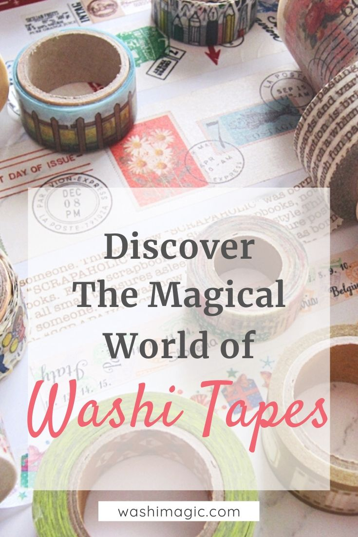 Discover the magical world of washi tapes | decorative masking tape | deco tape | washi masking tape | Washimagic.com