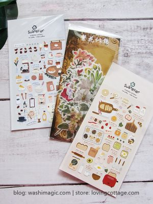 Planner Stickers (Bread / Coffee) | Diary Stickers | Food Stickers | Journal Deco Stickers | Lovingcottage store | Washimagic.com